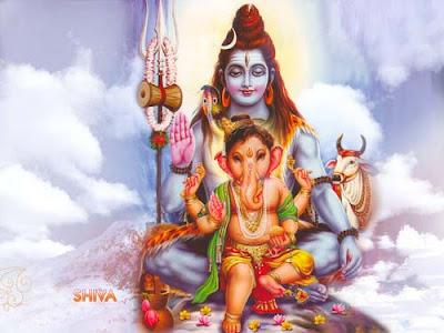 hindu-god-shiva-with-cute-son-ganesha-niceimgs