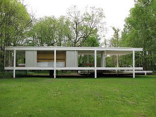 Casa Farnsworth. Historia, imágenes, arquitectura.