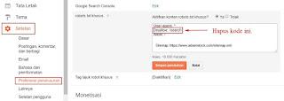Diindeks, Meski Diblokir Oleh Robots.txt