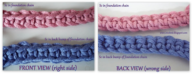 how to crochet, crochet in back bump, tutorial, free crochet patterns,