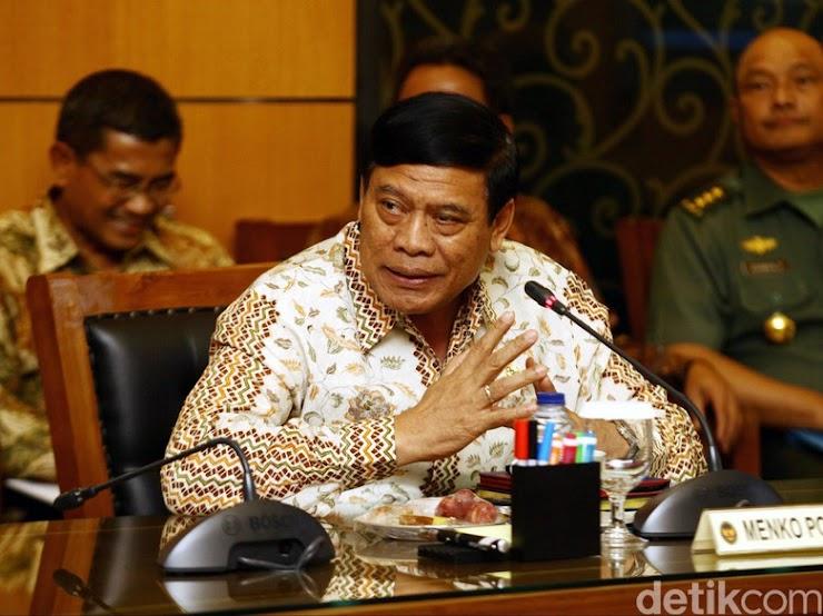 Tedjo Eks Menko Polhukam dan Dua Jenderal Gabung ke Partainya Tommy Soeharto