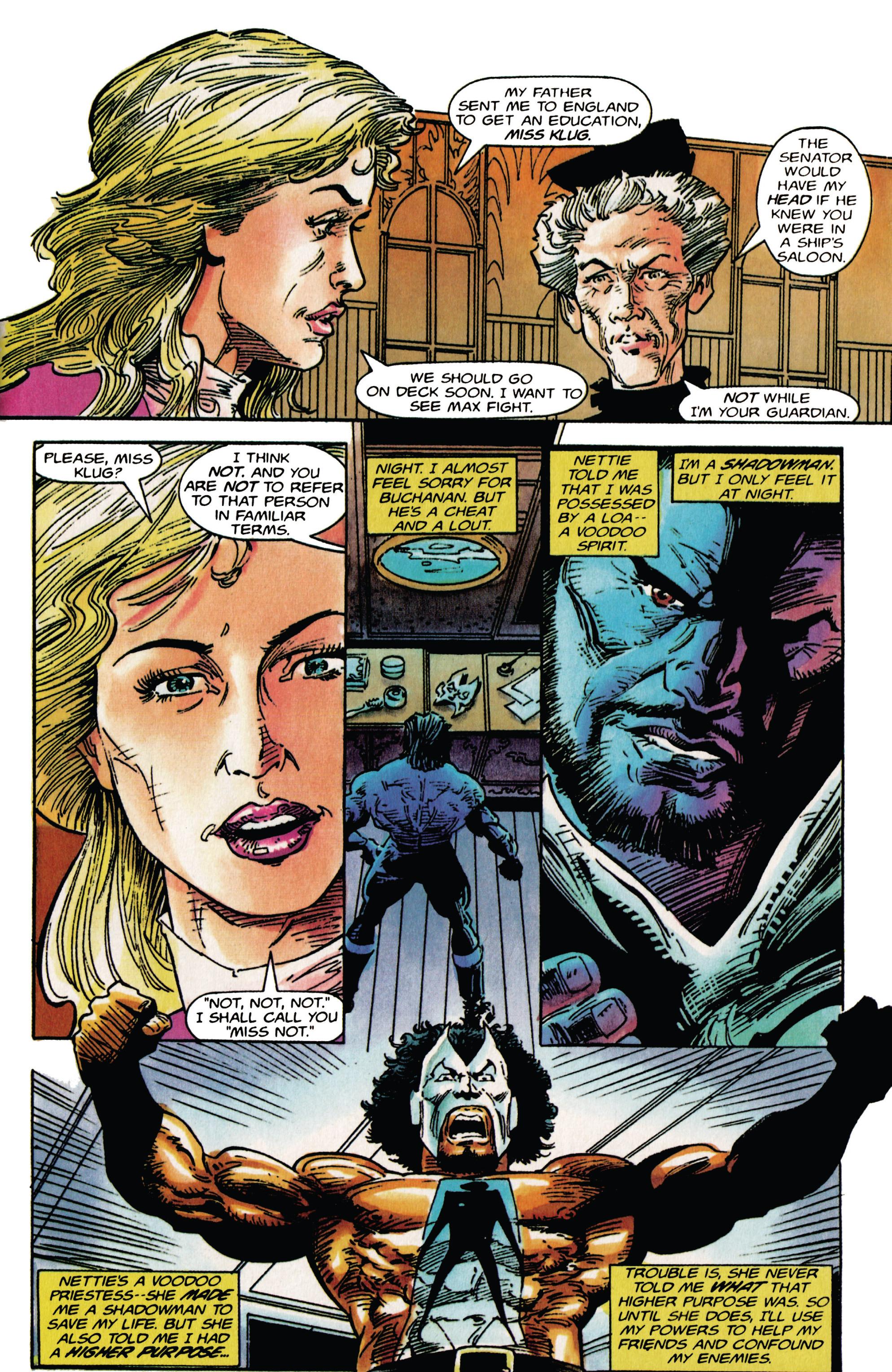 Read online Shadowman (1992) comic -  Issue # _TPB 1 - 7