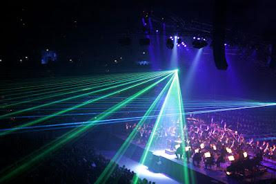 Đèn Laser Công Suất Lớn