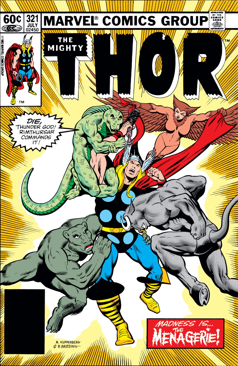 Thor (1966) 321 Page 1