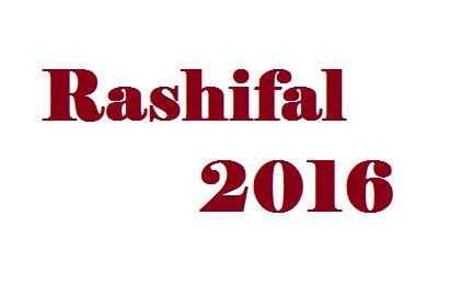 Rashifal 2016 by abhishek bhatnagar - Abhishek Bhatnagar