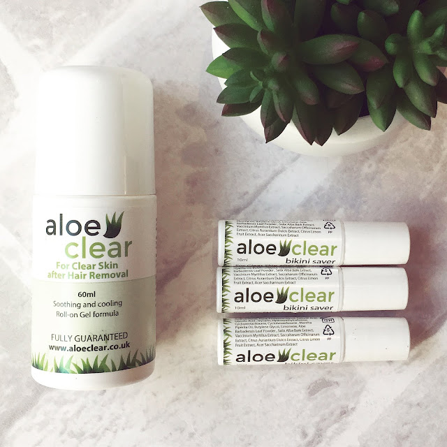 Lovelaughslipstick Blog AloeClear Aloe Clear Clear Skin After Hair Removal Gel Review
