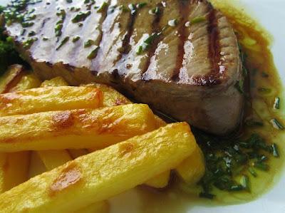 Gurmanski tuna steak / Gourmet tuna steak