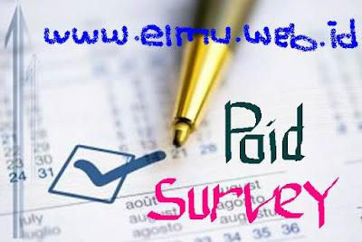 Menghasilkan uang dari  survey http://www.elmu.web.id