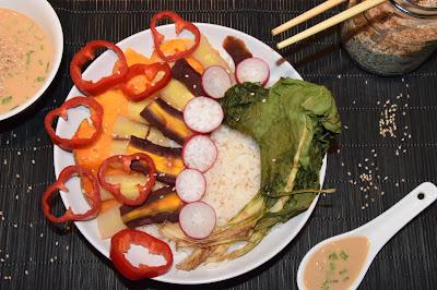 vegan buddha bowl sesame