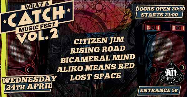What a Catch Festival Vol.2: Τετάρτη 24 Απριλίου @ An Club