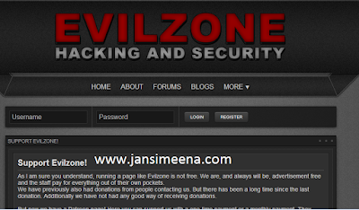evilzone haking sites