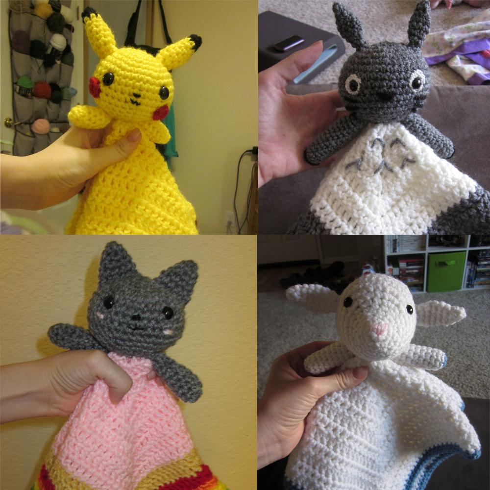 Pikachu Totoro Amigurumi | www.etsy.com/listing/501233538/pi… | Flickr | 1000x1000