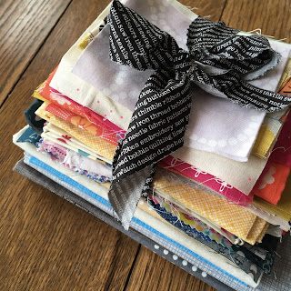 fabric bundle scraps