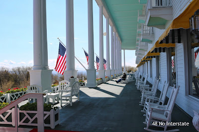 48 No Interstate: How to Create a Road Trip Itinerary - Grand Hotel, Mackinac Island, Michigan