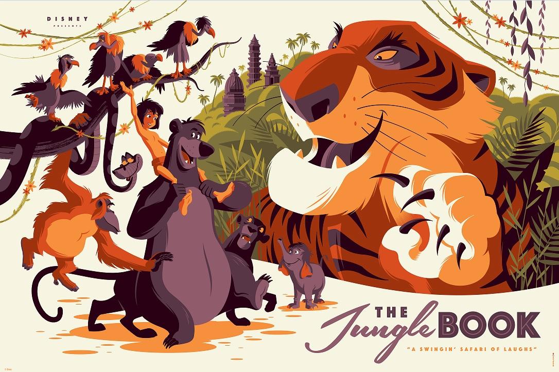 San Tan VW >> INSIDE THE ROCK POSTER FRAME BLOG: Tom Whalen Jungle Book ...
