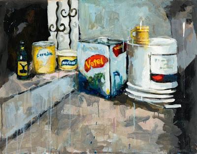 """muestra """"Memorabilis"""" de Rafael Arteaga, Galería Espacios."""
