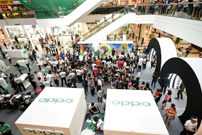 OPPO F3 sets new sales record Over 22,000 units sold