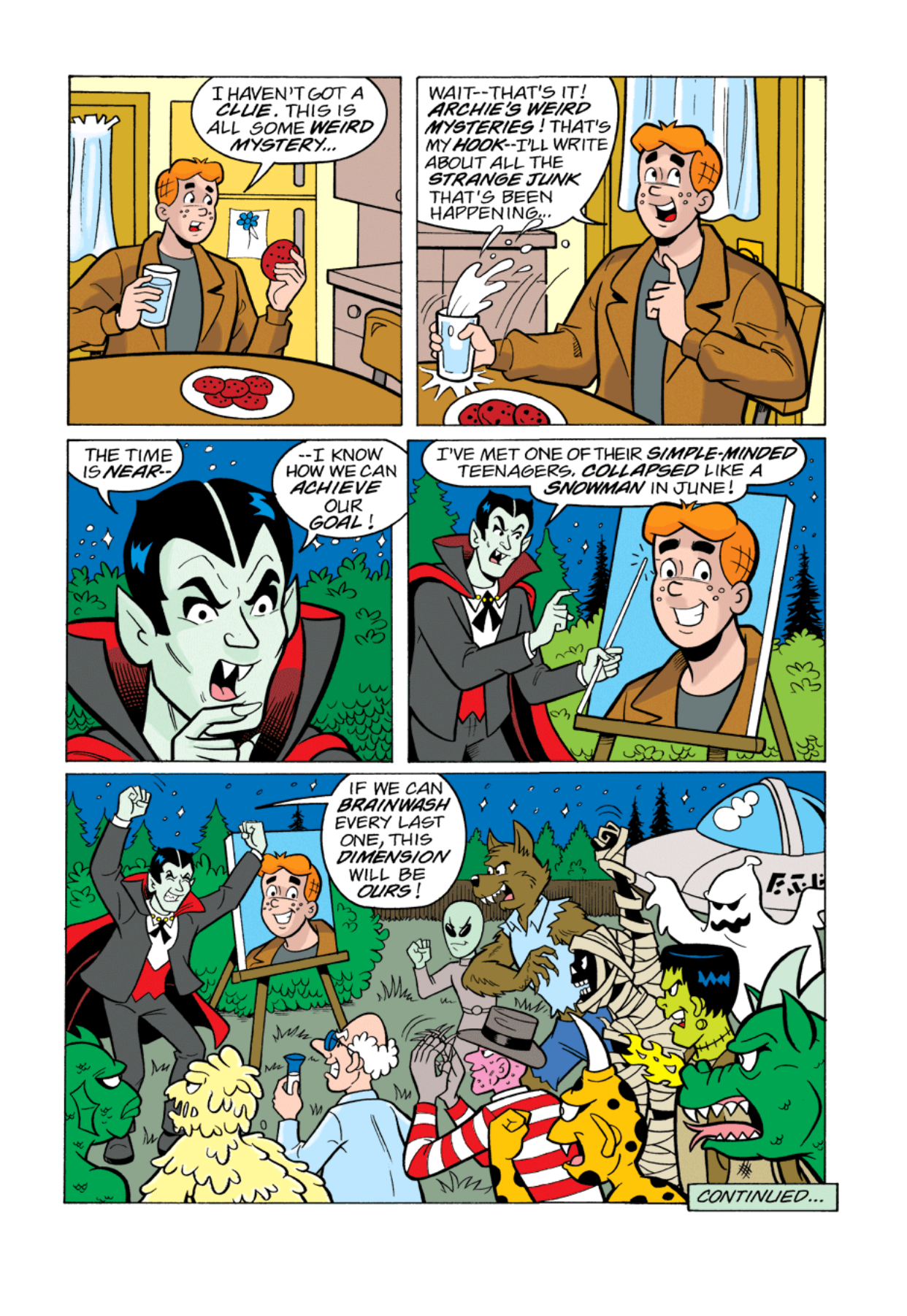 Read online Archie's Weird Mysteries comic -  Issue #1 - 12