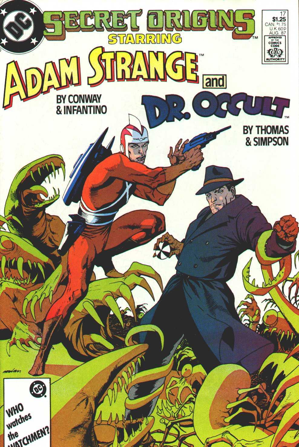 Read online Secret Origins (1986) comic -  Issue #17 - 1