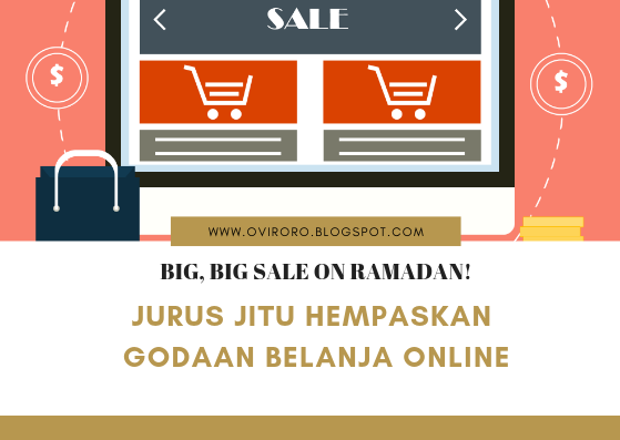 Jurus Jitu Hempaskan Godaan Belanja Online