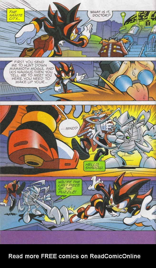 Read online Sonic The Hedgehog comic -  Issue #168 - 15