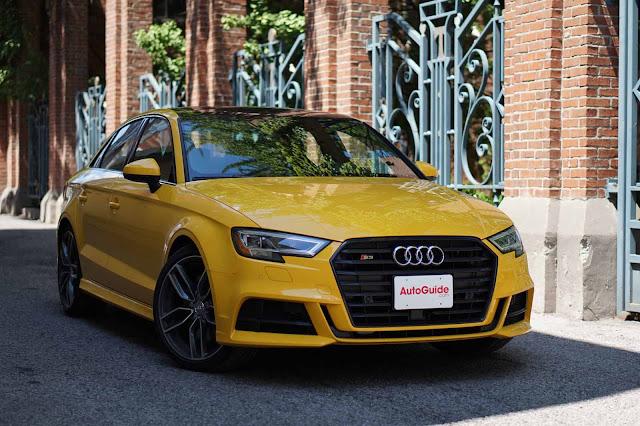 Audi s3 2018 caractéristiques