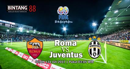PREDIKSI AS ROMA VS JUVENTUS 31 JULI 2017