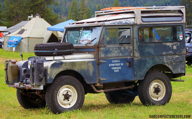 Ray Hyland's Series 1 Land Rover, was recently driven from London to Singapore. It was ray, his wife, and three kids in this little rig for months! Again, you don't need a big rig to see the world!