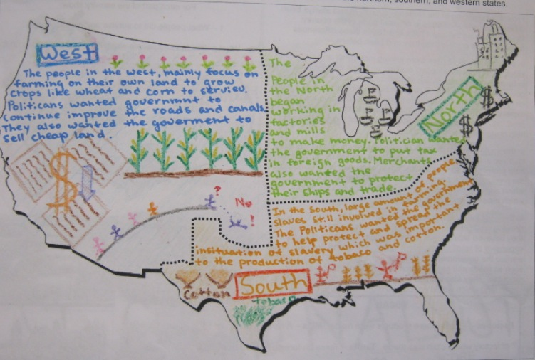 Mr Gray History: Student Work - Sectionalism Posters