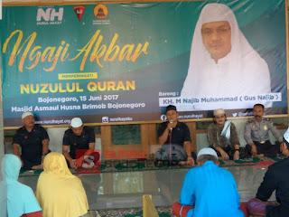 Brimob Bojonegoro Berbagi Dibulan Ramadhan