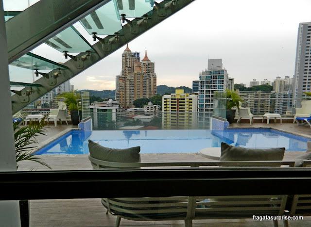 Terraço do Quarto do Best Western Plus Panama Zen Hotel, Cidade do Panamá