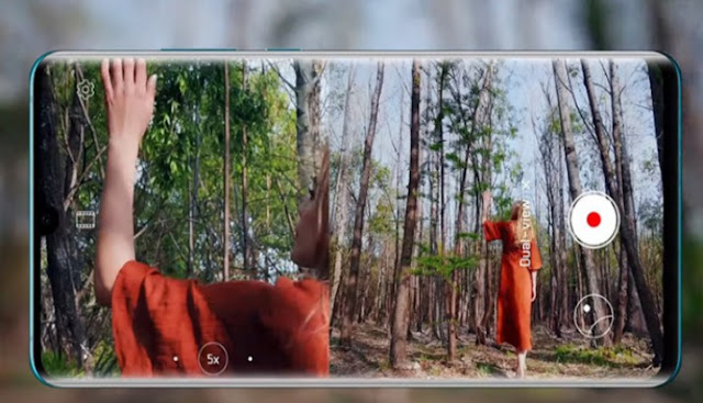Best Gadgets 2019 | Double view camera mode currently out on the Huawei P30 Pro