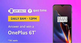 AMAZON OnePlus 6T Quiz Time JPEG