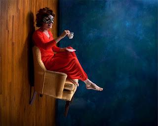 Foto con ilusión óptica- Perspectiva forzada