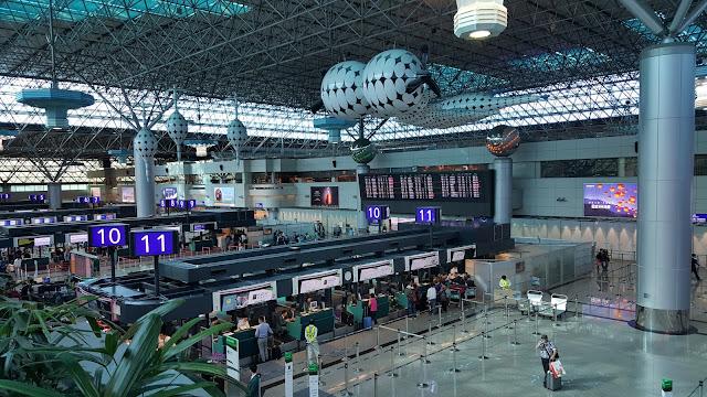 2018년 세계 공항 순위 15위를 차지한 대만 타오위안(桃園) 공항 [류정엽 촬영 = 대만은 지금]