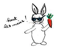 Le lapin flingueur