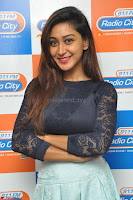 Shravya in skirt and tight top at Vana Villu Movie First Song launch at radio city 91.1 FM ~  Exclusive 12.JPG