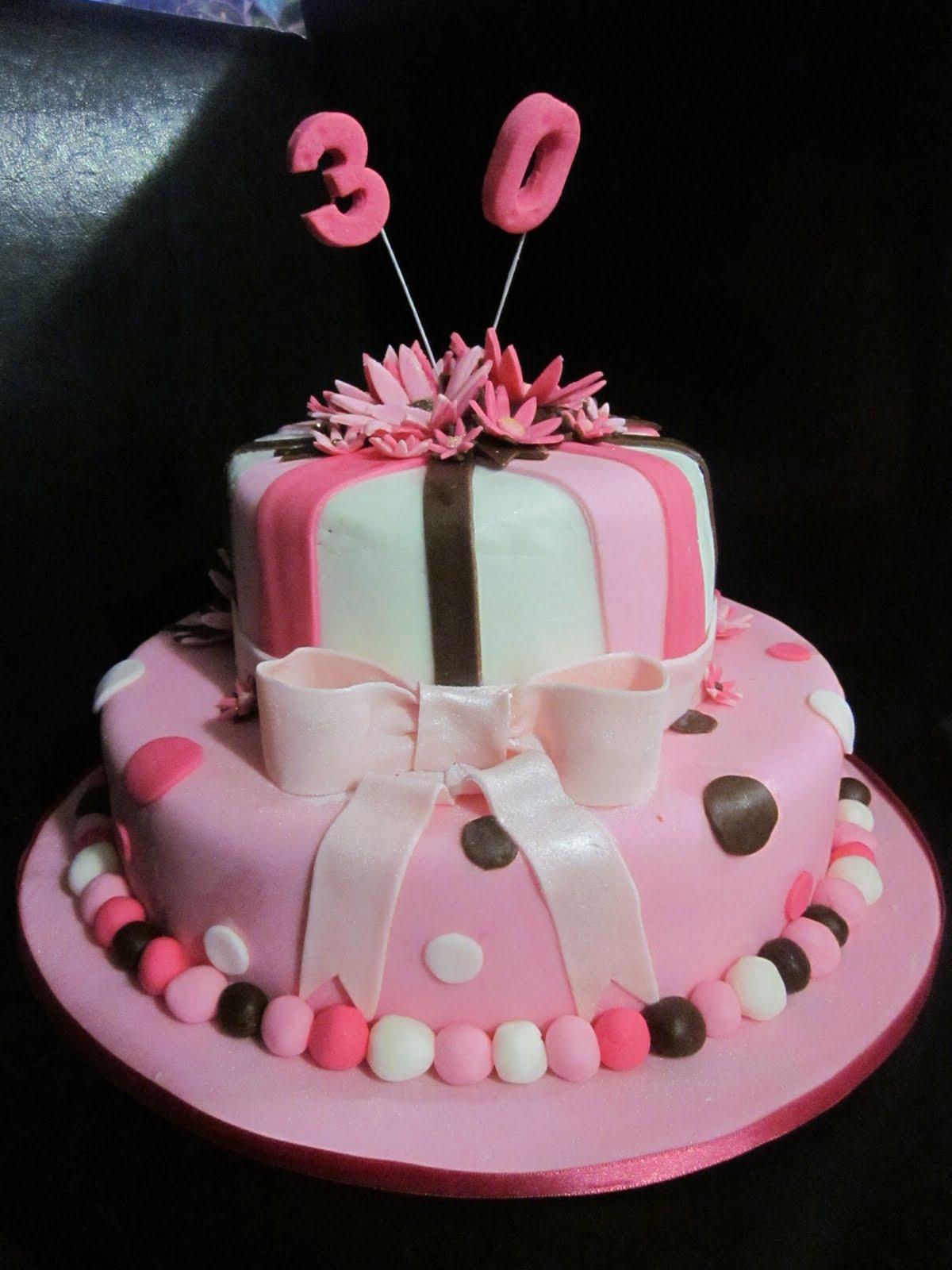Deb S Cakes And Cupcakes Females 30th Birthday Cake
