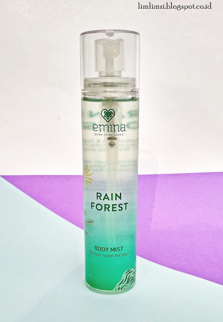 Emina Body Mist (Rain Forest & Pixie Dust)