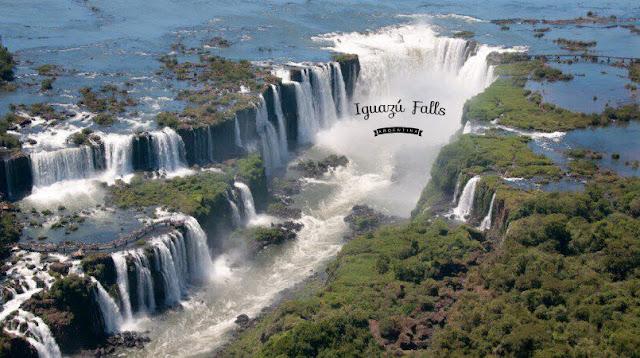 伊瓜蘇瀑布鳥瞰