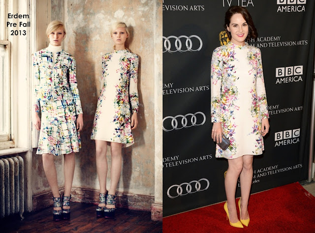 Michelle Dockery in Erdem – BAFTA LA TV Tea 2013