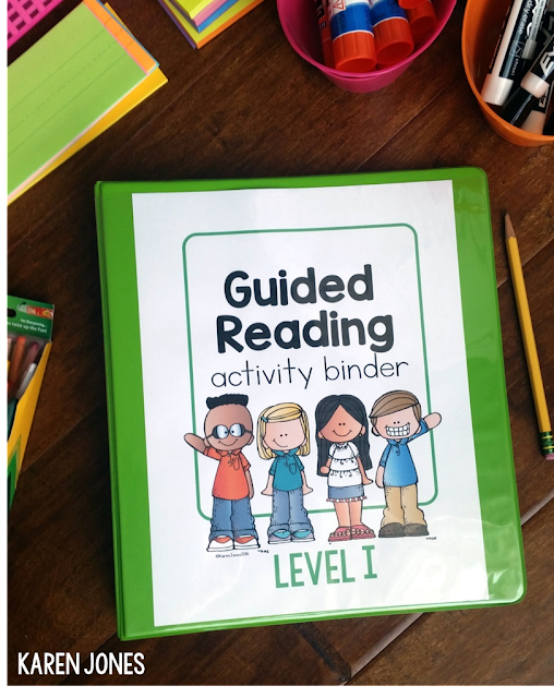 guided reading level I