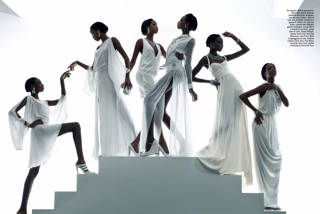 save off a4b1f 2dab0 Marihenny Rivera and Shena Moulton in Vogue Italia February ...