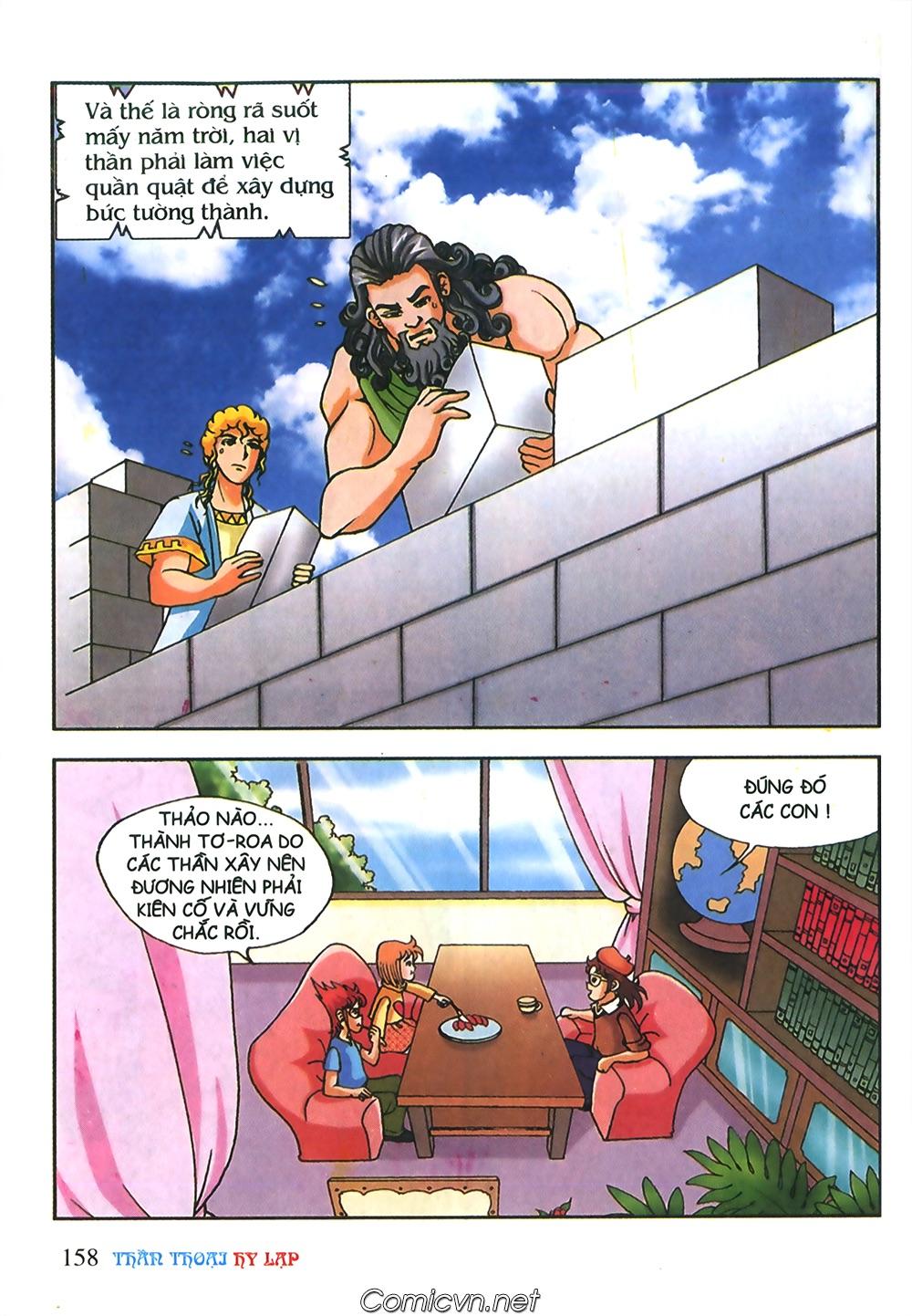 Thần Thoại Hy Lạp Màu - Chapter 56: Hai vị tướng và hai mỹ nữ - Pic 11