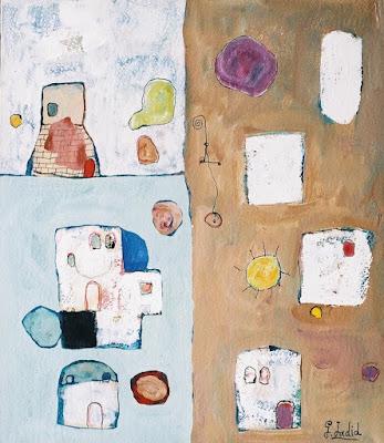 Peinture du dimanche ( Ghassan Jadid - Syrie ) dans - DESSIN - IMAGE - PEINTURE a25