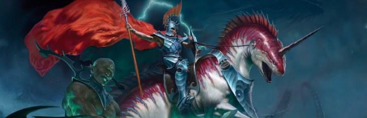 Idoneth Deepkin Akhelian King Warhammer Age Of Sigmar