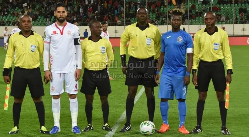 حسنية اكادير يحقق فوزه الاول في كأس الكونفيدرالية الأفريقية على فريق  إنييمبا بهدفين بدون رد