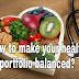 How to make your health portfolio balanced?