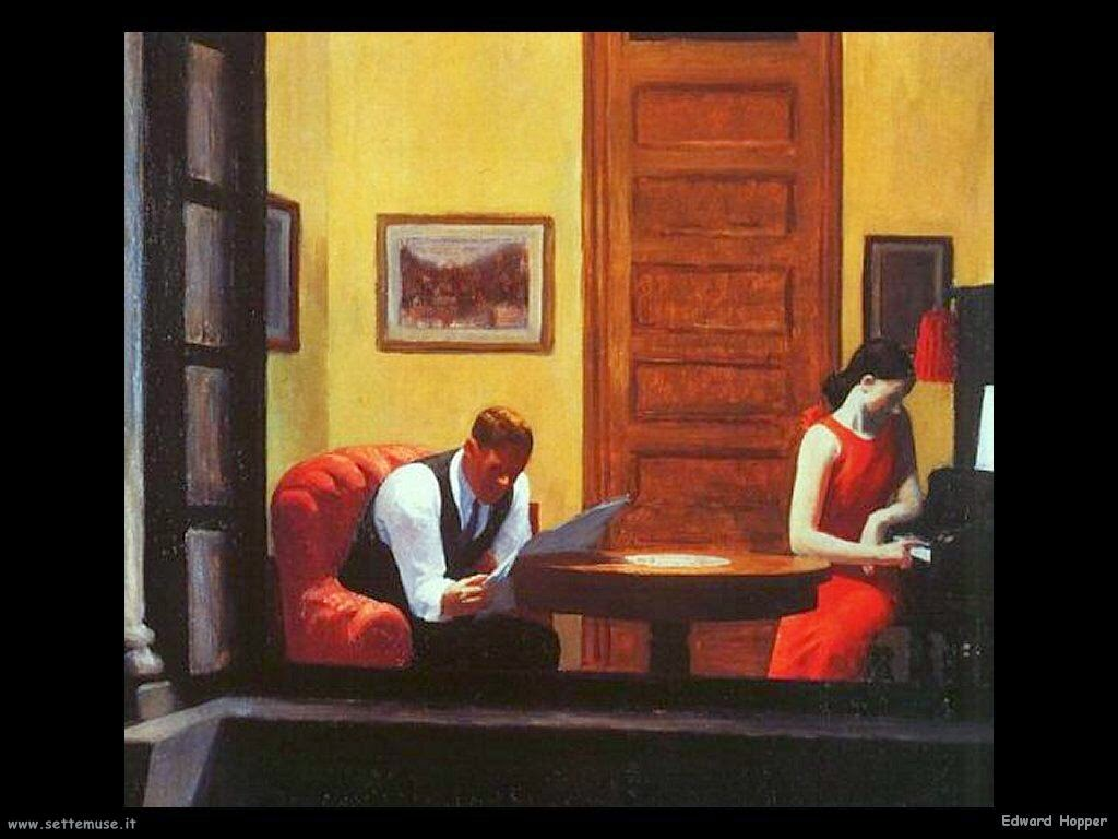 La Chambre A New York Edward Hopper Vento Largo Morire Di Solitudine