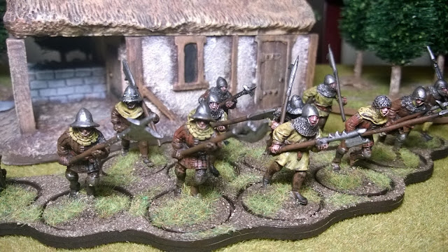 lion's rampant foot sejeants sergeants